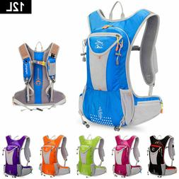 12L Light Weight Close-Fitting Hydration Pack Running Campin