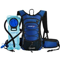 MIRACOL 15L Hydration Backpack Pack with 2L Water Bladder Ba