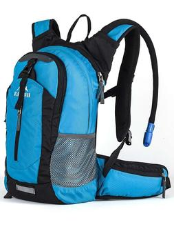 18L Hydration Backpack With 2.5L Water Bladder Lightweight P