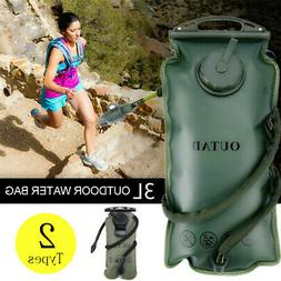 3L Water Bladder Bag Backpack Hydration System Survival Pack