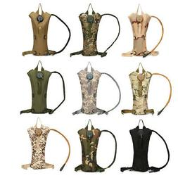 3L Water Bladder Bag Military Hiking Camping Hydration Backp