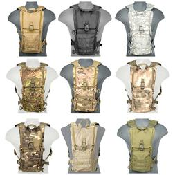 Lancer Tactical Airsoft MOLLE Hydration BackPack Bladder Sto