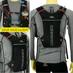 Breathable Bicycle Hydration Backpack Vest Bag Pack MTB Camp