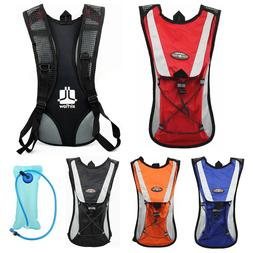 Cycling Backpack Water Bag Hiking Pouch Climbing Hydration P
