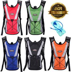 Cycling Backpack with 2L Hydration Bladder Water Bike/Hiking