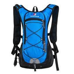 ROCKRAIN Hiking Hydration Backpack Lightweight Pack with 2L