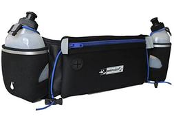 Outdoorsman Lab Hydration Belt for Running with Water Bottle