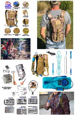 hydration camel pack backpack water filter kit
