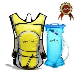 AcTopp Hydration Pack - 4L Hydration Backpack and 2L Bladder