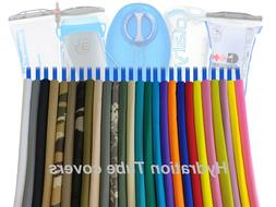 Hydration pack drink tube insulator cover / sleeves .. For C