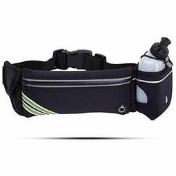 Hydration Running Belt Waist Pack with Water Bottle for Woma