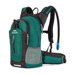 Insulated Hydration Backpack Pack with 2.5L Bladder Daypack