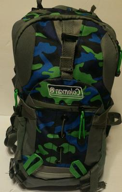 Coleman Kid's Hiking Backpack w/ Hydration Compartment & Bla