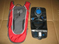 Outdoor Products Kilometer 8.0 Hydration Pack, 2 Liter, Red,