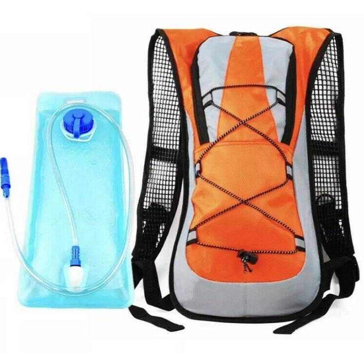 2L Water Bladder Bag Hydration Pack Camping Cycling