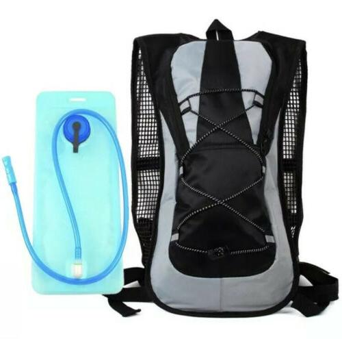 2L Water Bladder Hydration Backpack Camping Retail Pack