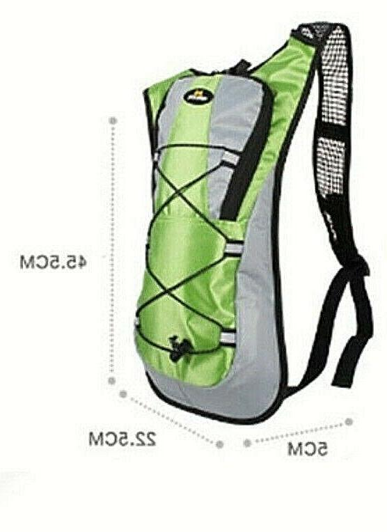 2L Hydration Backpack Pack Camping Retail