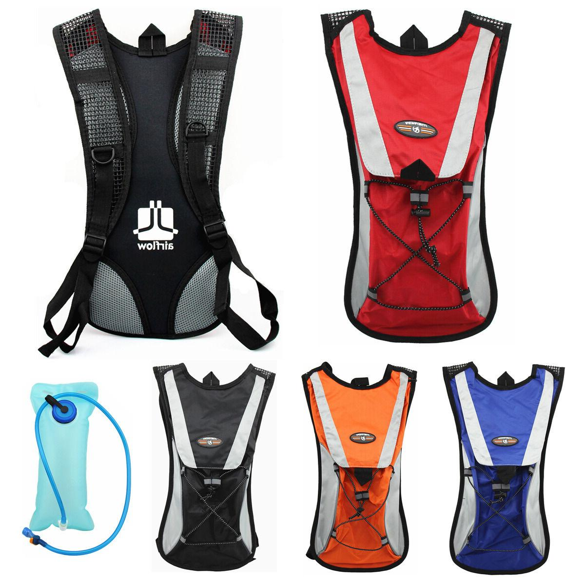 cycling backpack water bag hiking pouch climbing