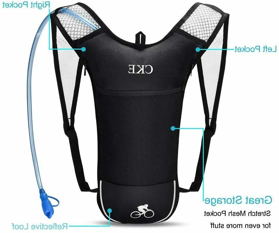 KBNI Hydration Backpack Pac with 2 Litre  Water Bladder,  NI