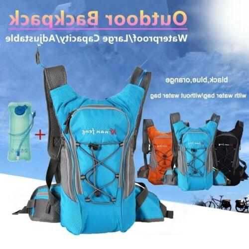 hydration backpack pack with bladder for running