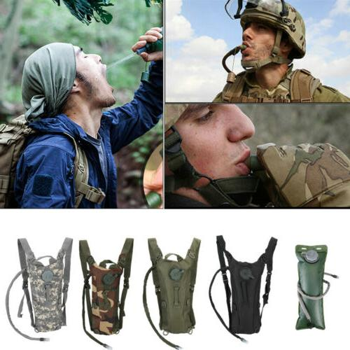 Back Camel 3L Water Bladder Hydration Backpack Pack Outdoor