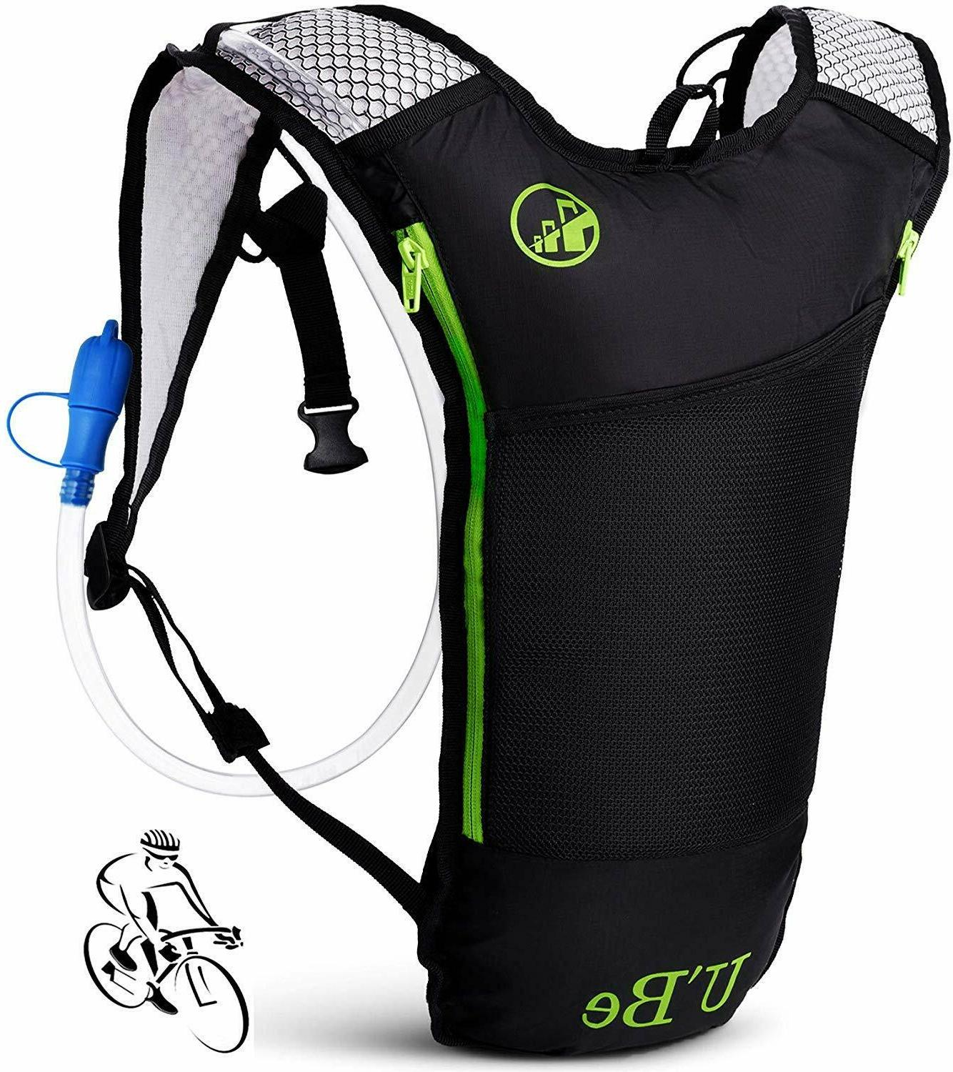 hydration water backpack bladder hiking camping pack