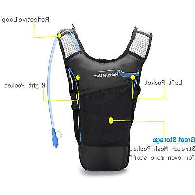 Lightweight BPA Thermal Insulated Hydration w 2L Blue