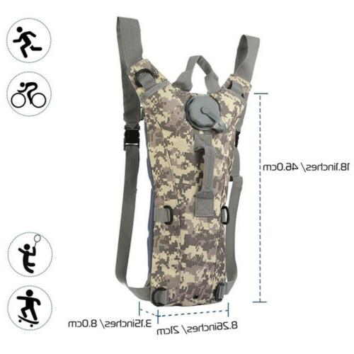 3L Water Bladder Hydration Backpack