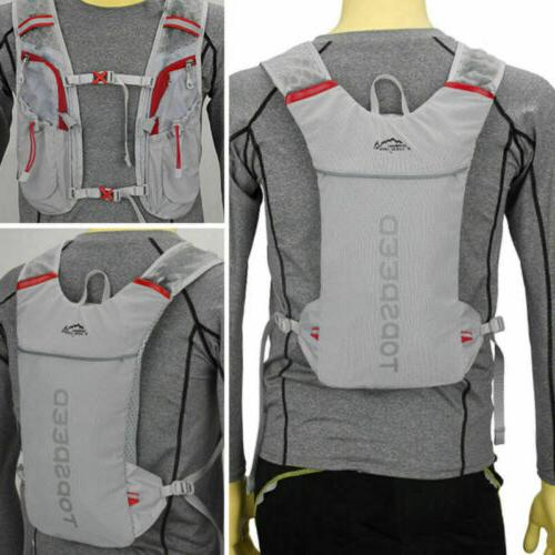running hydration water backpack outdoors camping hiking