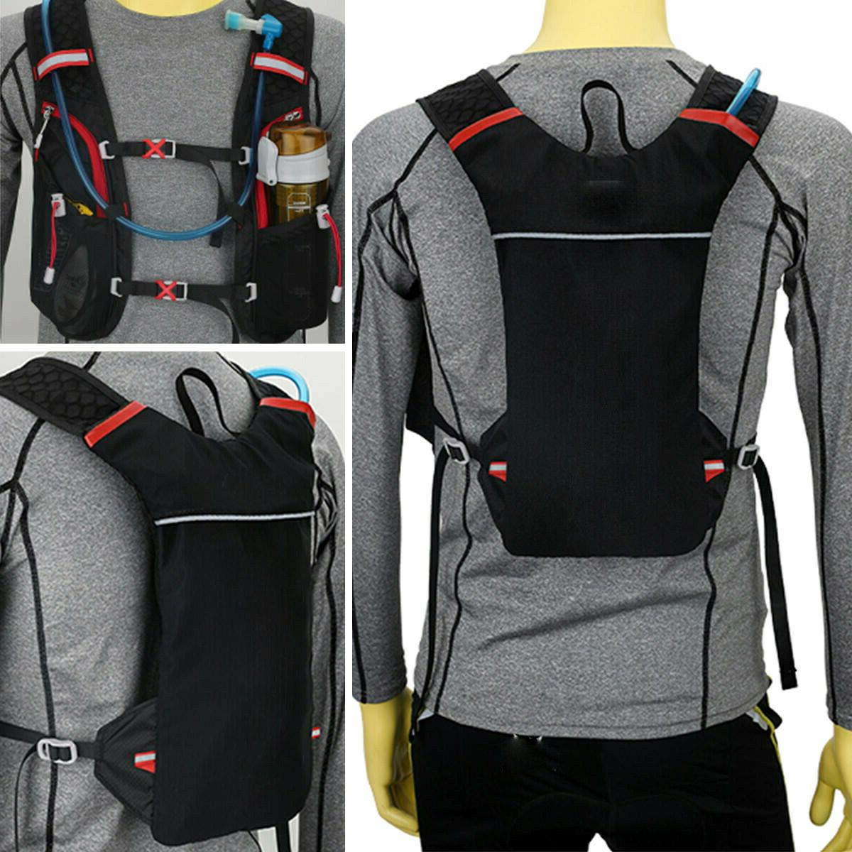 sport cycling marathon running vest backpack breathable