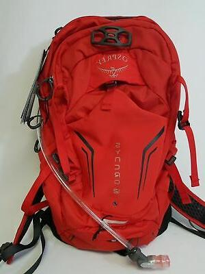syncro 12 hydration bag pack with 2