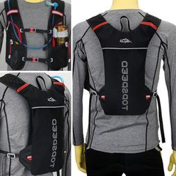 Marathon Running Sport Cycling Vest Backpack Breathable Hydr