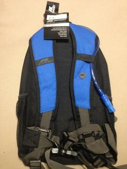 Trespass Mirror 15L Hydration Pack Backpack Black Blue 70 OZ