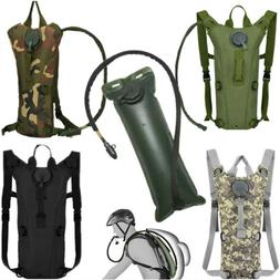 3L Water Bladder Bag Hydration Backpack Pack Hiking Camping