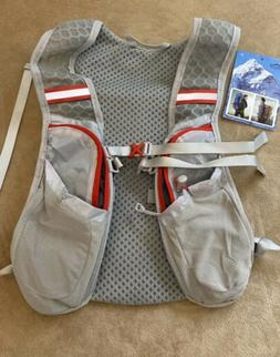 Outdoor Travel Sport Vest Hydration Pack Sz S/M Camping Hiki