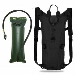 Tactical Hydration Backpack 3L Bladder Water Bags Hunting Cl