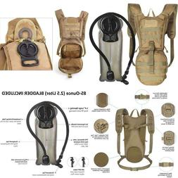 Unigear Tactical Hydration Pack Backpack 900D With 2.5L Blad