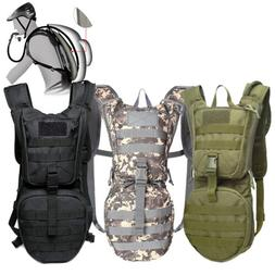 Tactical Hydration Pack Water Backpack with 2.5L Bladder Mil
