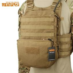Tactical Molle Hydration Bag Pouch Mutlicam Climbing Hiking