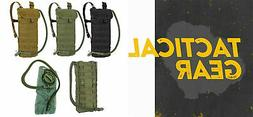 tactical molle pals hydration pack carrier w
