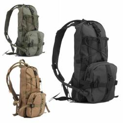 Tactical Water Bag Hydration Backpack Hiking Cycling Camping